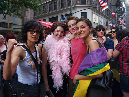 NYC Dyke March with Velvetparkettes