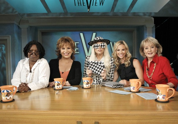 Lady Gaga Talks Amy Winehouse on The View (Video)