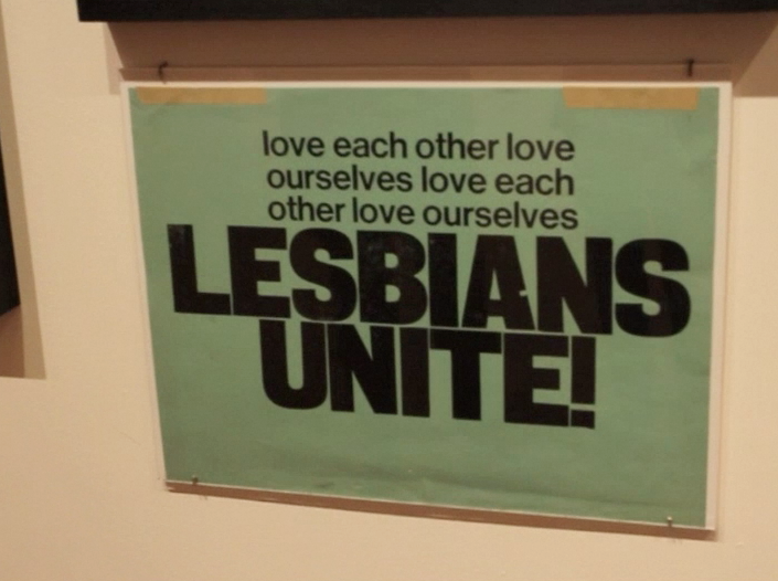Lesbians Seeing Lesbians: Leslie Lohman Museum's Inaugural Show