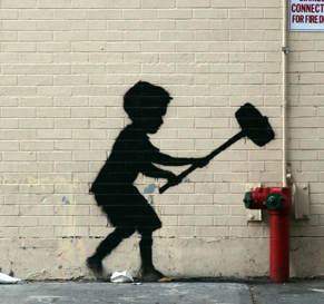 New York's Favorite Art Critic Tries to Like Banksy