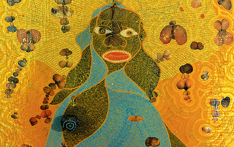 Chris Ofili Retrospective at The #NewMuseum